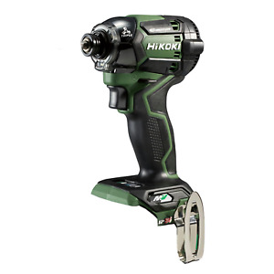 HiKOKI WH36DC(NNG) 36V Multi Volt Cordless Impact Driver Body Only Forest Green