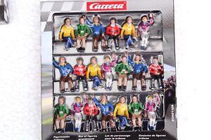 Carrera 21129 20 Spectator / Audience Figure Set 1/24 & 1/32 Slot Car Accessory