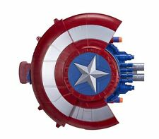 NERF Marvel Avengers Civil War Captain America Blaster Reveal Shield Dart Gun