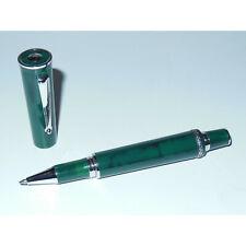 Used* Delta Dolcevita Papillon Rollerball/Ballpoint Pen Green/Black/Sterling