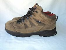 MENS RED WING ASTMF 2413-11 STEELTOE SAFETY WORK BOOTS SIZE 12 D Brown