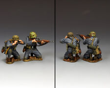 KING & COUNTRY WW2 GERMAN ARMY WH082 WEHRMACHT SNIPER TEAM MIB
