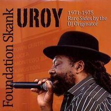 LP U-ROY Foundation Skank 1971-1975 Rare Sides By The DJ Originator