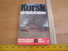 Ballantines Illustrated World War II book Battle 7 Kursk tank battles armour