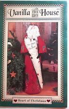 "Vanilla House ""Heart Of Christmas"" Vintage Doll Pattern 20"" Santa"