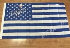 Los Angeles Dodgers 3x5 Ft American Flag Baseball New In Packaging