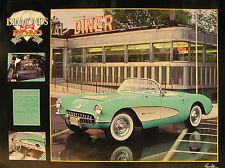 1957 Corvette Poster 18x 24