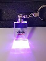 2018 Led 3D Audi cube keychain key ring keyring with gift box LIMITED EDITION