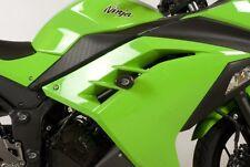 Kawasaki Ninja 250 2013 R&G Racing Aero Crash Protectors CP0326BL Black