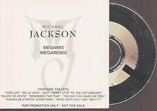 Michael Jackson Megamix Megaremix Cd Promo 1995