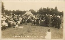 Sandwich Baby Show. Girl in foreground.