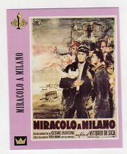 Figurina SUPERCINEMA EVENTS MAXI CARDS NUMERO 83 MIRACOLO A MILANO