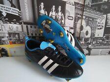 Adidas Adipure Iv Trx Fg Men's Soccer Cleats Us 9.5 / Eu 43 1/3 Black New Rare