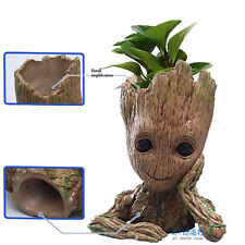 16CM Guardians of The Galaxy Baby Groot Figure Flowerpot Style Pen Pot UK