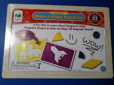 Magnetic Make a Shape Puzzle Set