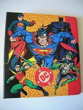 DC  COMICS  TRADING CARDS BINDER CAPACITE POUR PLUS DE 180 CARDS BE
