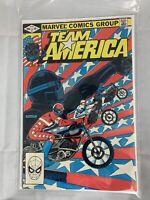 Team America Number #1 Marvel Comics June 1982