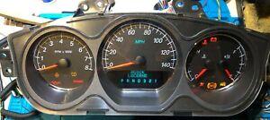 2006/2007 BUICK LUCERNE USED DASHBOARD INSTRUMENT CLUSTER FOR SALE