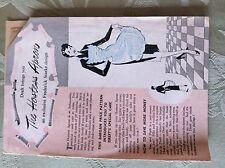A2d ephemera 1950s dreft the hostess apron pattern frederick starke