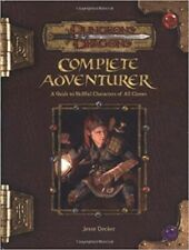 "1x Complete Adventurer"" A Guide to Skillfull Characters of All Classes Used/Fine"