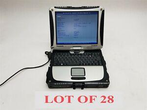 "Panasonic Toughbook CF-19 MK8 10.1"" XGA Core i5-3610ME 2.70GHz 8GB Laptop Lot 28"