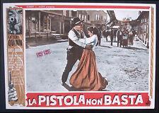 CINEMA-fotobusta LA PISTOLA NON BASTA quinn, jurado, HORNER