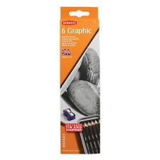 Derwent 6 Graphic Pencil Tin Set