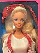 1991 TRAILBLAZIN Barbie by Mattel #2783 Special Edition Missing Boots
