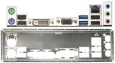 ATX pannello I/O Shield ASROCK b85m BTC #806 io NEW NUOVO OVP bracket Backplate NEW