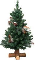Frosted Sherwood Mini Christmas Tree - 2ft - 60cm