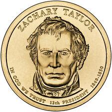 2009 D $1 Zachary Taylor - 12th U.S. President BU