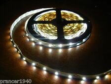 Lights Only - White Under Cabinet Counter LED Tape Lights - 3528 SMD 16.4 feet