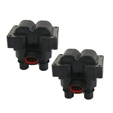 For Ford Escort Mazda 626 Mercury Tracer Ignition Coil Set of 2 PRENCO ZZM018100