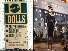 Boater Ensemble Barbie Collector Doll Mattel SHIPPER Silkstone Gold Label Best