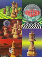 CHESS Sport Mostly Hungarian 46 Modern Postcards 1970-1990