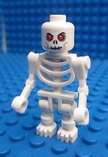 Lego White Skeleton with Bent Arms Minifigs Pirates Indiana Jones Castle Figure