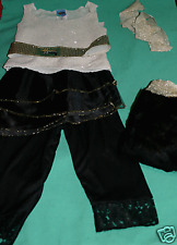 DISNEY HANNAH MONTANA HALLOWEEN COSTUME DISNEY 6 PC GIRL 7/8 HALLOWEEN COSTUME