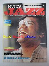 Rivista MUSICA JAZZ 1/1984 Anthony Braxton Roosvelt Sykes Helen Merrill * NO cd