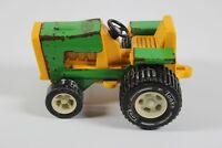 Vintage 1970's Tiny Tonka Farm Tractor  811002, Green/Yellow,