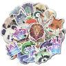 35 Pcs Pixel Animal Vinyl Decals Graffiti Sticker Bomb Laptop Skateboard Luggage