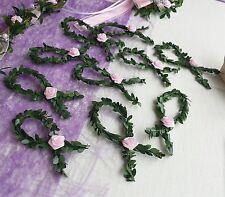 10x Fische  Buchsbaum rosa grün Streudeko Tischdeko Kommunion Taufe