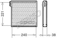 Verdampfer, Klimaanlage DENSO DEV09102 für FIAT