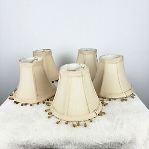 Set of Five Small Chandelier Lampshades