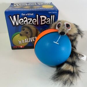 The Original Weazel Ball 1995 Prank Gift Fun Toy for Dog Cat Pets Kids D.Y.