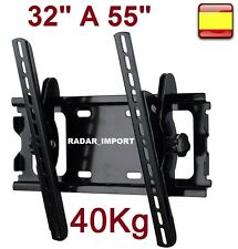 "Soporte para tv Plano lcd led plasma universal monitores de 32"" a 55"" inclinable"