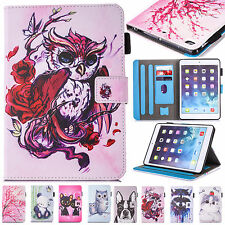 Flip Leather Stand Smart Magnetic Case Cover for Apple iPad Mini 2 3 4 Air Pro