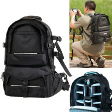 DSLR Waterproof Camera Backpack Padded Waterproof Travel Bag Rucksack Daypack