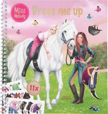 Stickerbuch Dress me up Jella & Sienna MISS MELODY NEU
