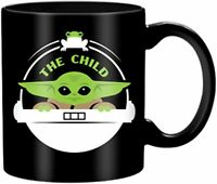 Mandalorian The Child 14 oz Jumbo Ceramic Mug Baby Yoda Star Wars Disney+ Gift