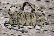 Old School Blackhawk Commando Chest Rig Woodland USED -- ARMY SF SOF CRYE DEVGRU